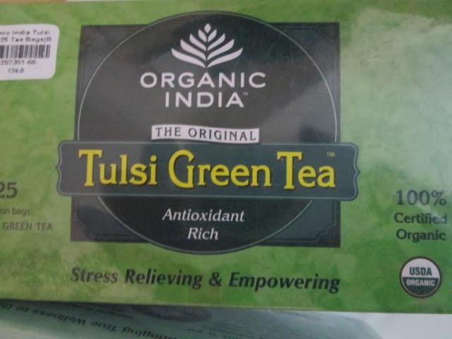 ORGANIC INDIA Tulsi Green Tea Review