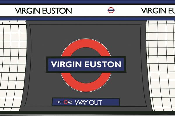 London Underground - Virgin Euston - Sponsorship