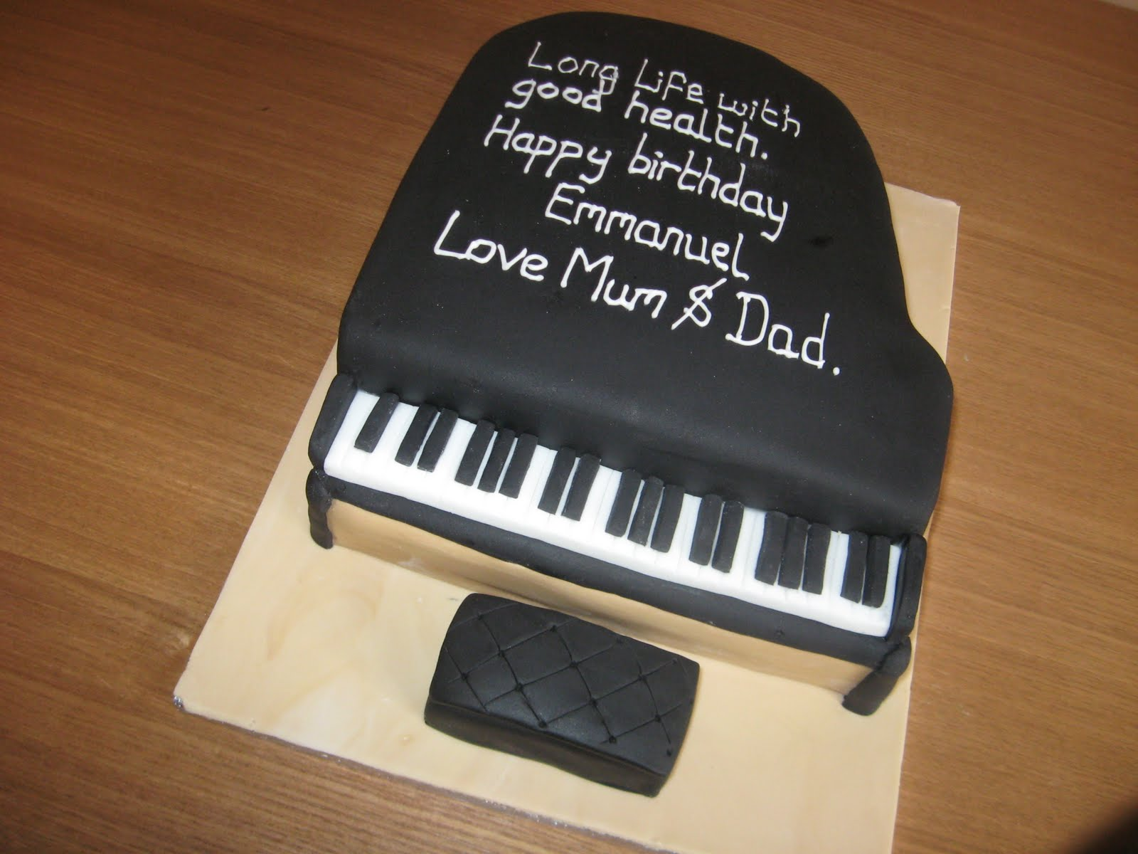Piano Cake Recipe  Dishmaps