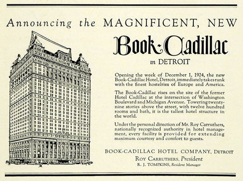 book cadillac detroit archival
