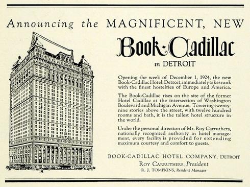 book cadillac detroit archival
