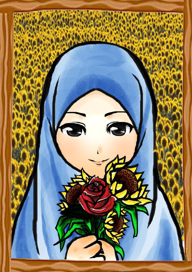 Kartun Muslimah Part 2 - Viral Cinta