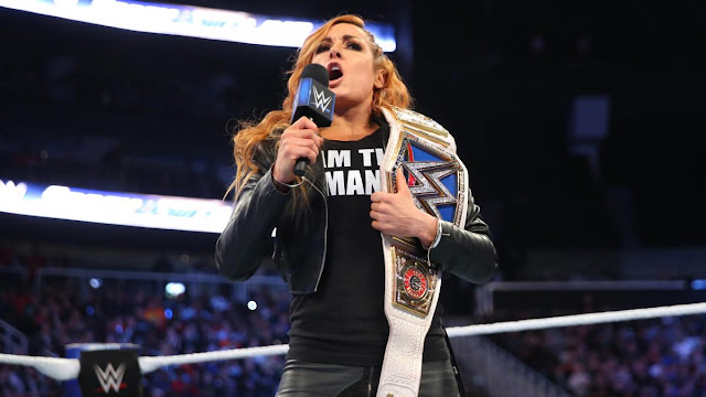 Becky Lynch 'I AM THE MAN' shirt.  PYGear.com