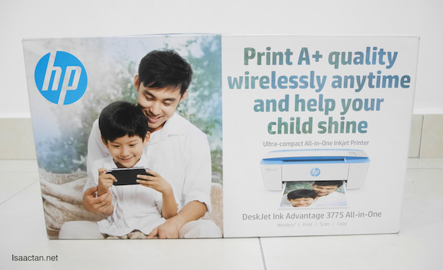 The HP Deskjet Ink Advantage 3775 All-in-One