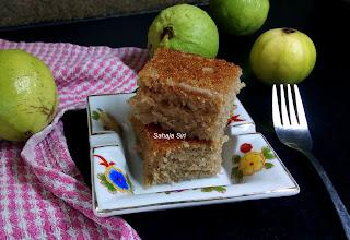 Guava tea Cake