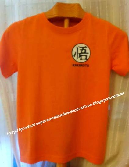 camiseta personalizada bolda de dragon