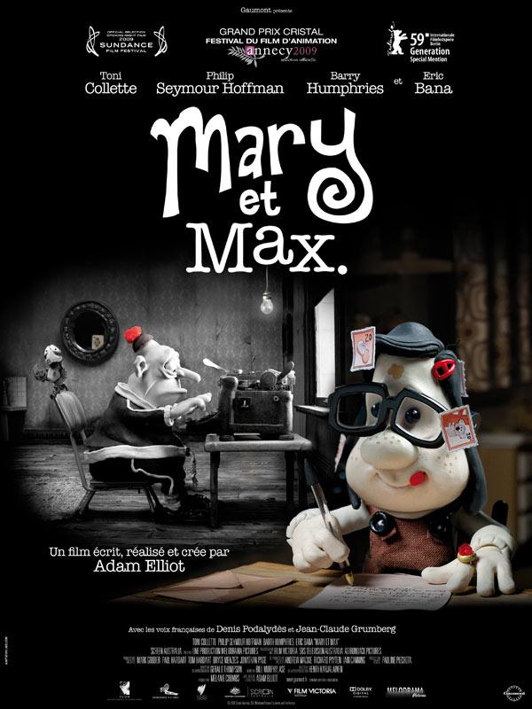 Mary and Max (2009) เด็กหญิงแมรี่ กับ เพื่อนซี้ ช็อคโก้-แม็กซ์