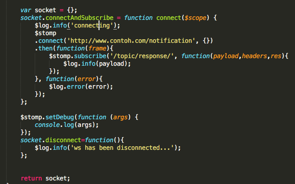 Nostra Technology: Konfigurasi Websocket dengan AngularJs