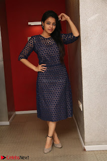Dazzling Janani Iyer New pics in blue transparent dress spicy Pics 037.jpg