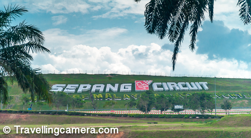 My Hotel was close to Sepang Formula-1 circuit, so we crossed through it. We didn't go inside but took a round around the whole circuit, but it's not very exciting unless there is some event happening at Sepang F1 Circuit.     Now let's talk about 5 must visit places in a day at Kuala Lumpur.