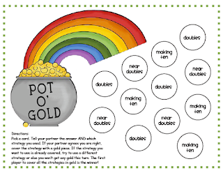 https://www.teacherspayteachers.com/Product/Pot-O-Gold-An-Addition-Strategies-Game-209667