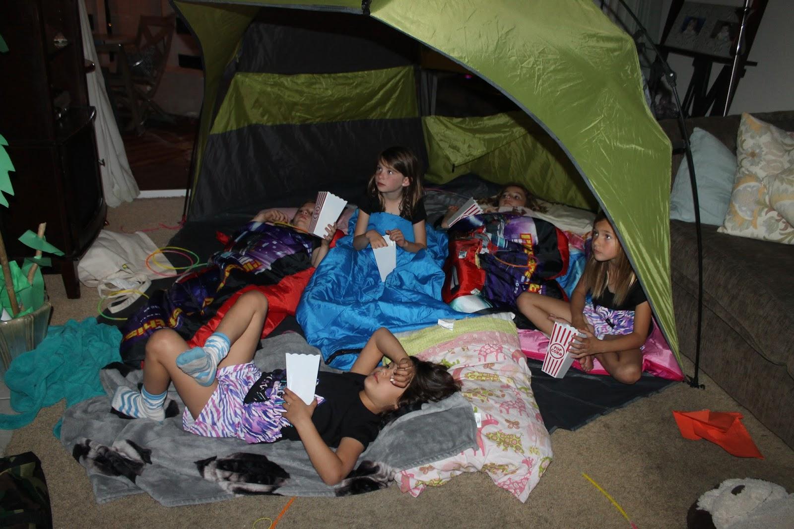Mezzadri Twins 7th Birthday Slumber Party