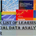 A book list of Learning financial data analysis using R #Rstats #Finance