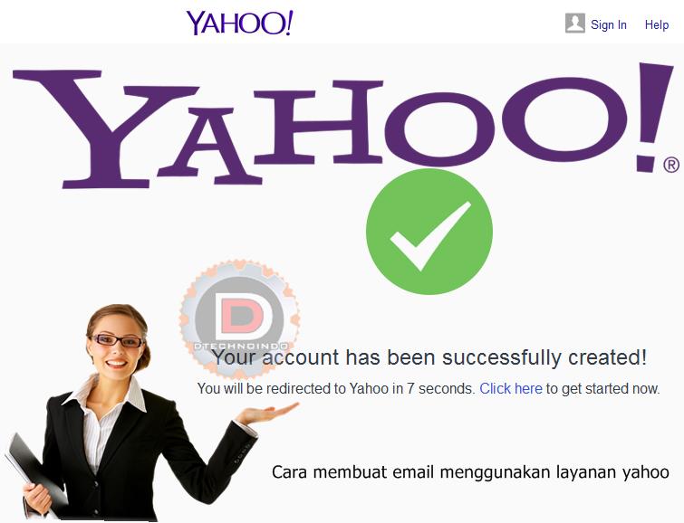 Cara membuat email menggunakan layanan yahoo | DTECHNOINDO