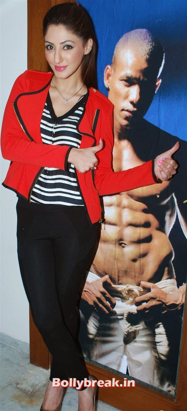 Reyhna Malhotra, Reyhna Malhotra at Sucheta Fitness Studio Launch Party