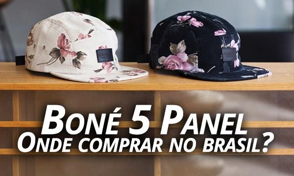 eea62f5d93ed4 Macho Moda - Blog de Moda Masculina  Boné 5 Panel! Onde Encontrar no ...