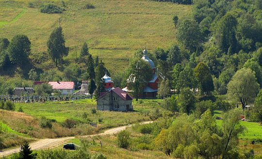 Cerkiew św. Mikołaja w Uryczu z 1911 roku.