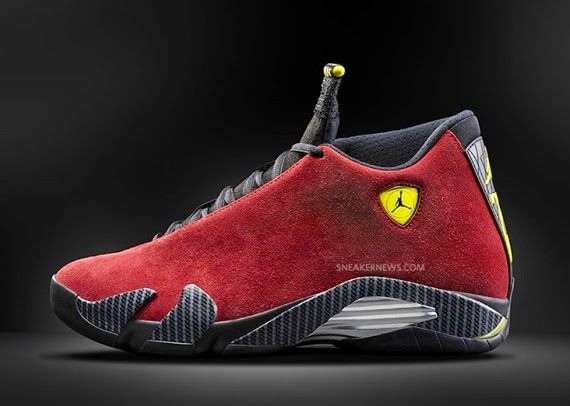 Michaeljordanbloger Air Jordan 14 Ferrari