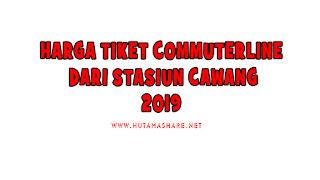 Harga Tiket Commuterline Dari Stasiun Cawang Terbaru 2019