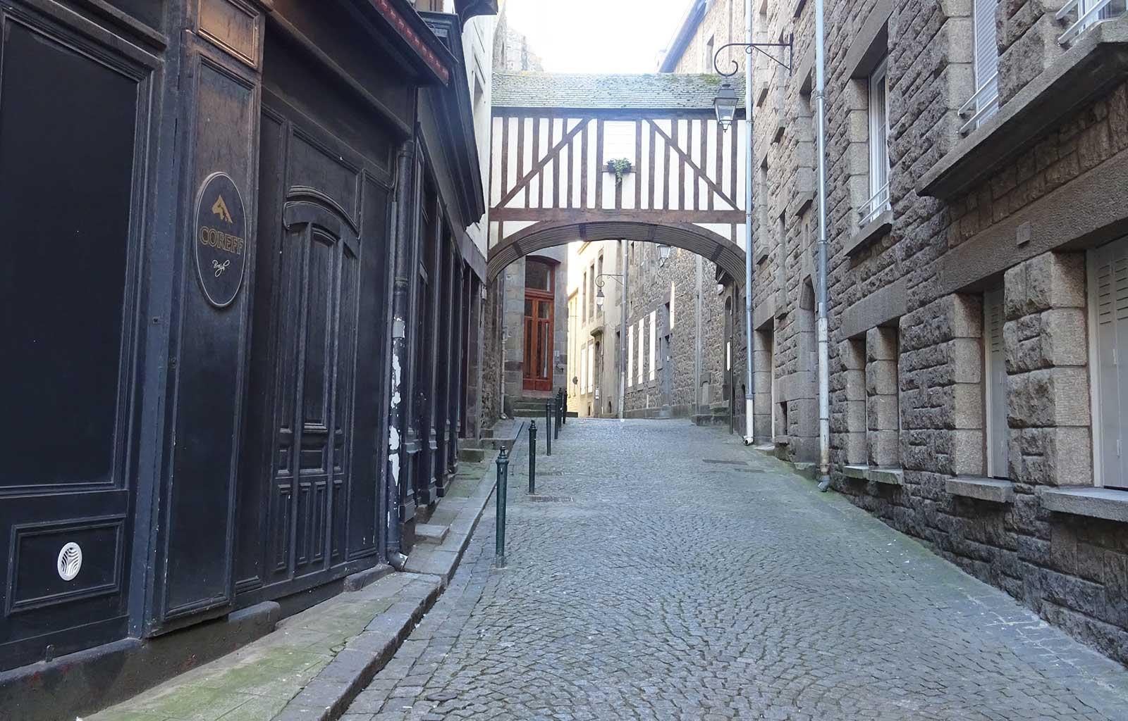 City Guide Saint Malo petite rue