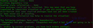 gagal install Gimp