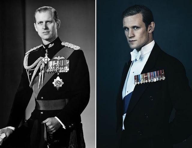 Comparación entre Matt Smith y el príncipe Felipe