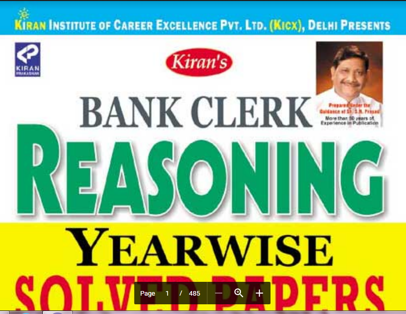 INDIA PLUS: KIRAN-BANK CLERK REASONING pdf