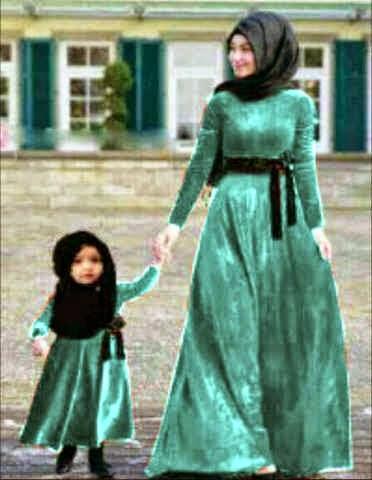 Kumpulan Model Baju Pesta Muslim Ibu Dan Anak Terbaru 2019 Website