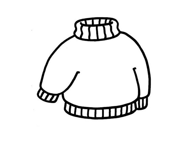 Mewarnai Gambar Pakaian Anak - 3