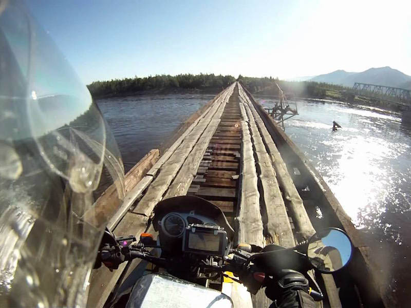 Vitim River Bridge (Siberia)