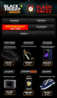 Jumia Black Friday Festival Day 10 Deals 22nd November 2017
