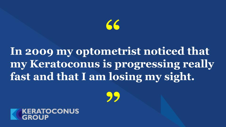 My Keratoconus, My Story, My Life