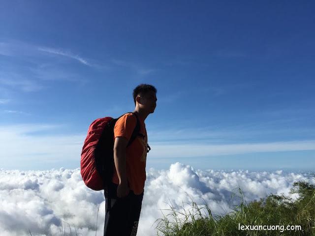 Hướng dẫn leo núi Bà Đen dễ nhất