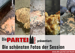 Die PARTEI Karneval Köln Session Aschermittwoch