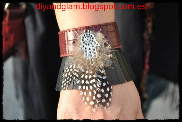 DIY pulsera boho chic