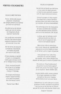Poemas de Ramón Crusi y Joaquim Travesset
