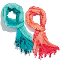 avon bright and breezy scarf catalog 5