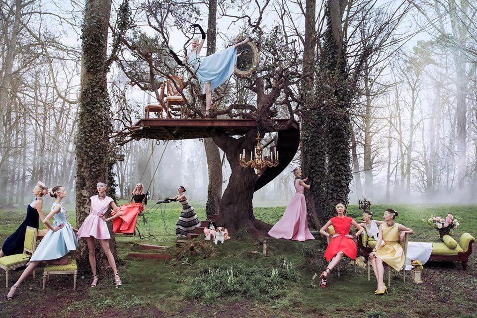 fantasy fashion photoshoot