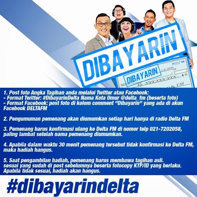 Dibayarin Delta FM