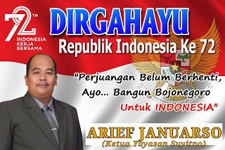 Arief Januarso Bacabup Bojonegoro, Merdeka Di Bidang Pendidikan Itu Harus