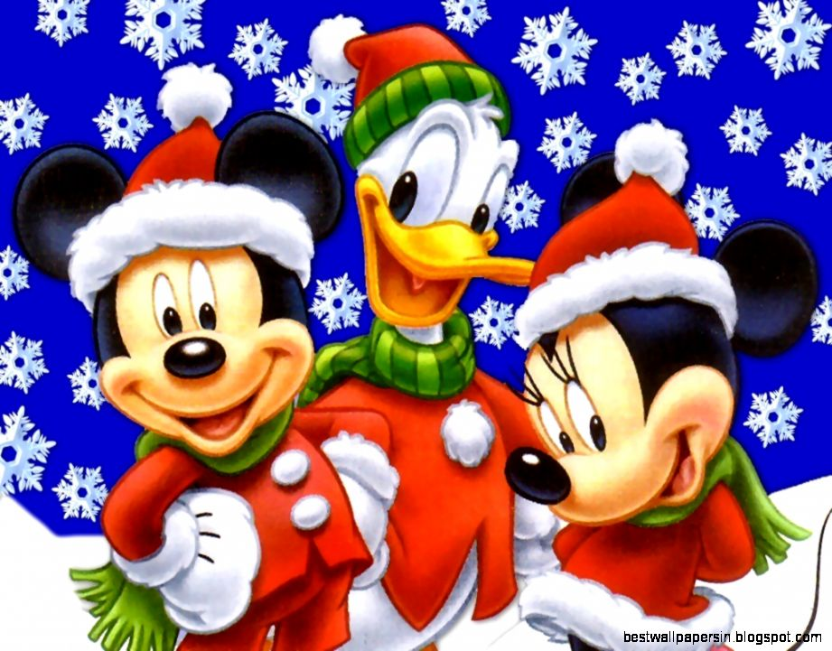 Merry Christmas Mickey Mouse Wallpaper | Best Wallpapers