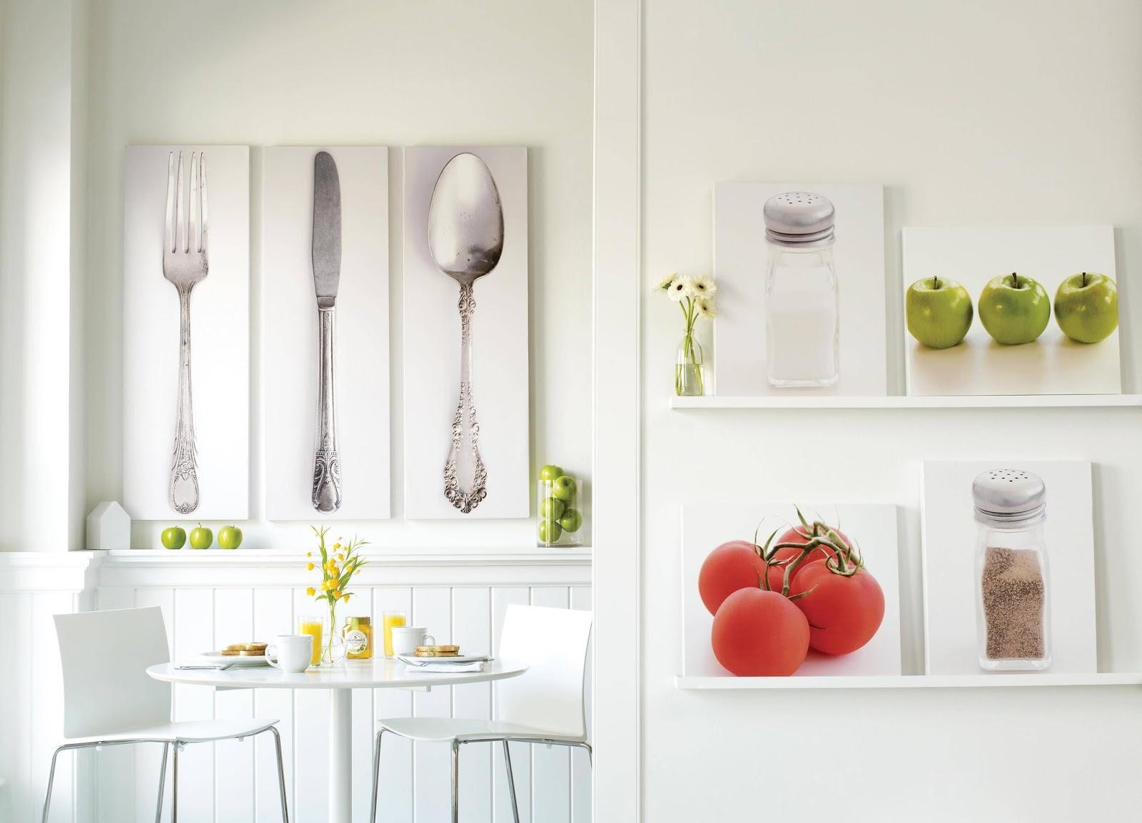 20 Desain Stiker Wallpaper Dinding Dapur Cantik