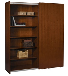 Sorrento Series Sliding Door Bookcase