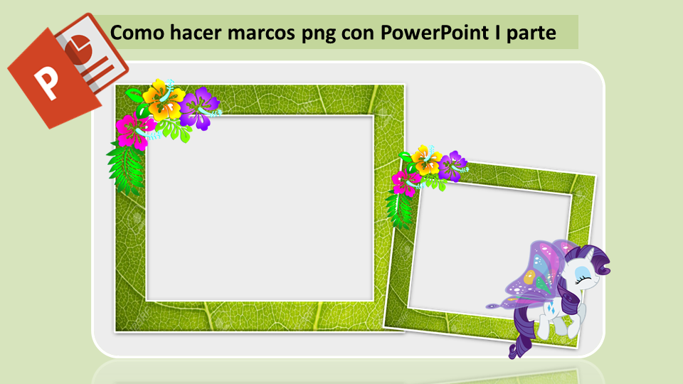 COMPUTACION M Y F: Marcos png en PowerPoint