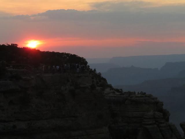 Grand Canyon South Rim Sunset