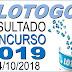 Resultado da Lotogol concurso 1019 (04/10/2018) ACUMULOU!!!