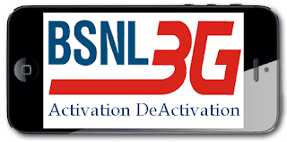 BSNL 3G Service Activation on New Prepaid Mobile