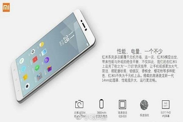 mua Xiaomi Redmi 5