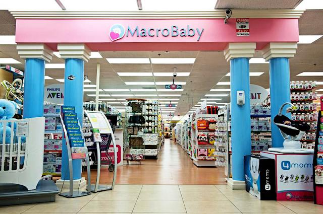Loja Macro Baby em Orlando: interior e produtos