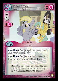 My Little Pony Moving Mare, Crash on Delivery Equestrian Odysseys CCG Card